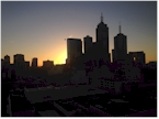 Melbourne, view from home