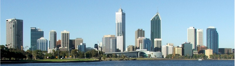 Perth at day. Perth Western Australia is a great place, give it a chance and what a fantastically, spectacular place it could be.